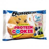 Протеиновое печенье Bombbar Смородина - Черника (40г)